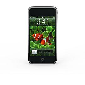 苹果5S3d模型