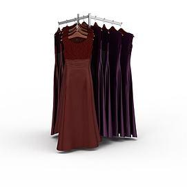 3d舞会晚礼服模型