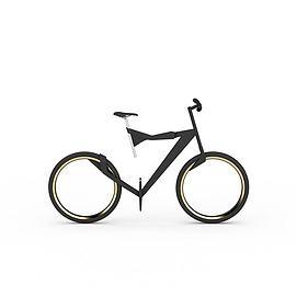 概念自行车模型