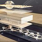 浮动的世博馆模型