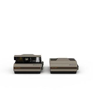 新款投影器3d模型