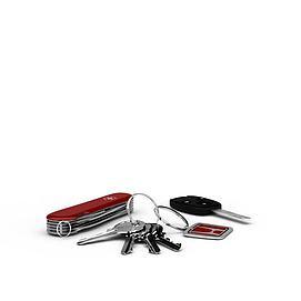 车钥匙3d模型