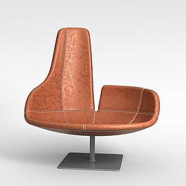 3d创意旋转椅模型