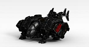 3d变形机器人模型