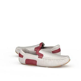 皮鞋3d模型