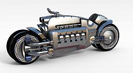 3d创意<font class='myIsRed'>摩托车</font>模型