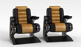 3d沙发沙发组合模型