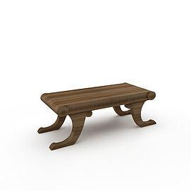 3d创意小长凳模型