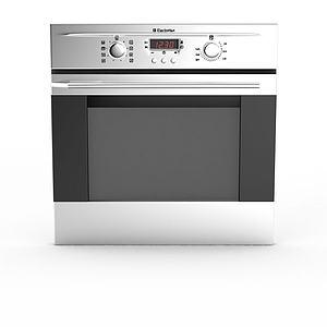 大型电烤箱模型3d模型