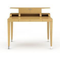 创意木制课桌3D模型3d模型