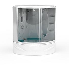 卫生间淋浴房模型