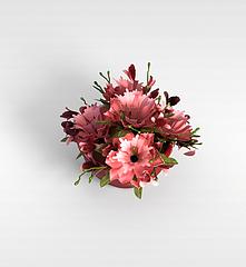 花盆栽模型3d模型