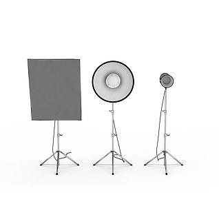 摄影聚光灯3d模型