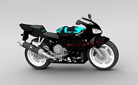 3d时尚<font class='myIsRed'>摩托车</font>模型