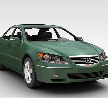 墨绿色轿车