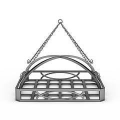 铁艺吊篮模型3d模型