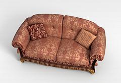 布艺沙发模型3d模型