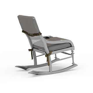 现代<font class='myIsRed'>老人</font>椅3d模型