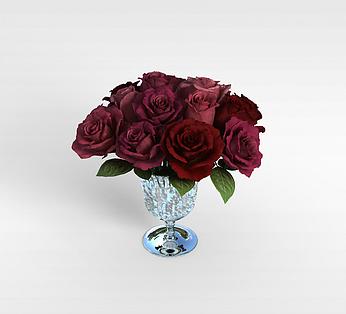 玫瑰装饰品