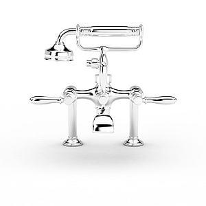 不銹鋼水龍頭模型