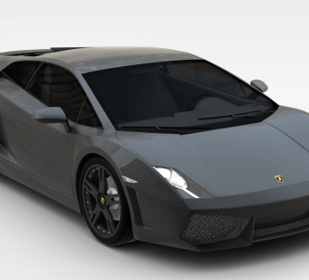 现代黑色汽车