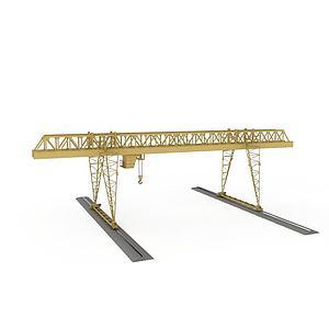 起重機模型3d模型