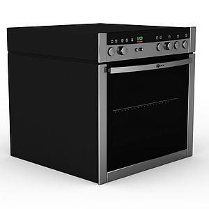 3d烤面包箱模型