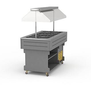 保温工作台3d模型