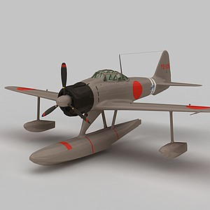 3dA6M2N战斗机模型