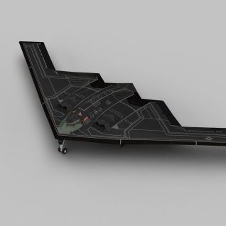 3dB2轰炸机模型