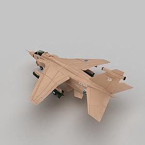 3dBAJAGUAR战斗机模型