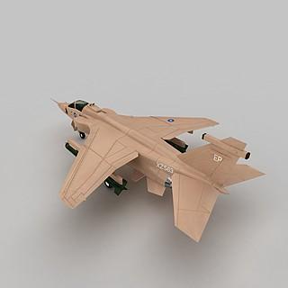 BAJAGUAR战斗机3d模型