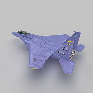 F-15E战斗机3d模型