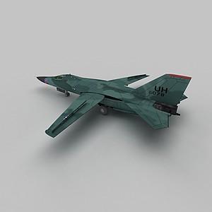 3dF111战斗机模型