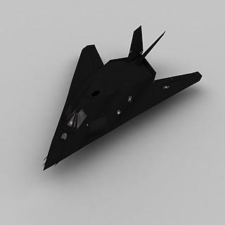 f117轰炸机3d模型