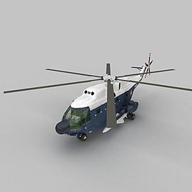 FRELON直升战斗机3d模型