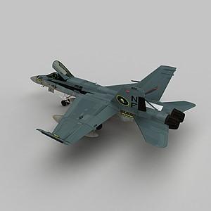 3dHornet戰斗機模型