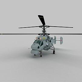 KA25A<font class='myIsRed'>直升机</font>3d模型