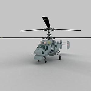 3dKA25A<font class='myIsRed'>直升機</font>模型