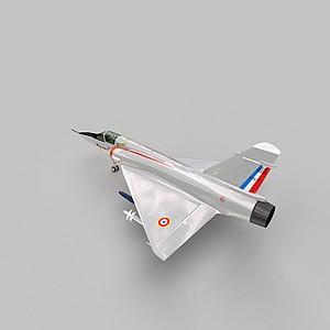 3dM2000戰斗機模型