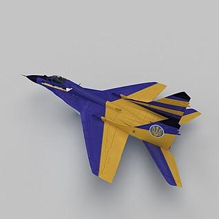 MIG29A战斗机3d模型