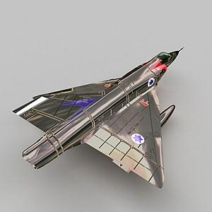 3dmirageIII战斗机模型