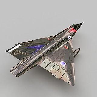 mirageIII战斗机3d模型