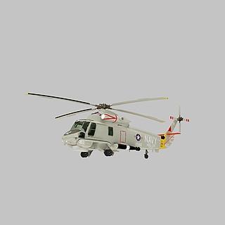 海妖战斗直升机3d模型