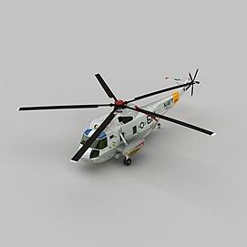 SH3HNAVY武装直升机3d模型