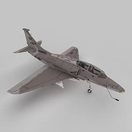 SKYHAWK攻击机3d模型