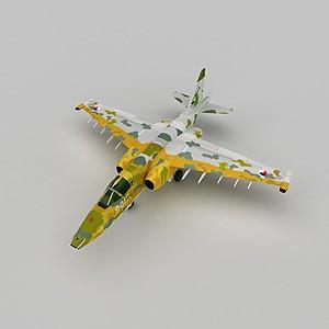 3dSU25戰斗機模型