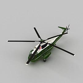 VH3DPRES武装直升机3d模型