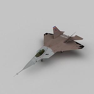 3dYF22隱形戰斗機模型