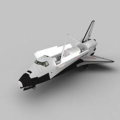太空航天飞机模型3d模型